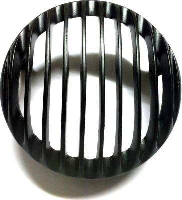 Bikers World Customised Heavy Metal Head Light Grill For Bajaj Avenger Street 150 Headlight Frame Support