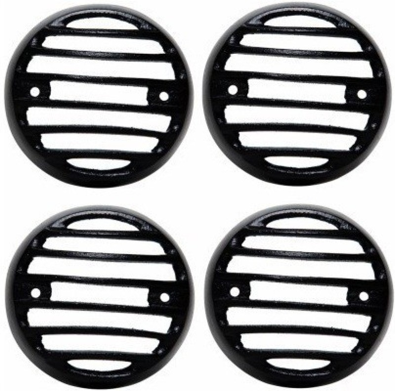 ACCESSOREEZ Customised Black Heavy Metal Indicator Grill For Royal Enfield Bullet 350 Twinspark Rearlight Frame Support(Royal Enfield 2015)