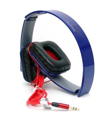 Signature vm29 stereo headphone Headphones(Blue, Over the Ear)