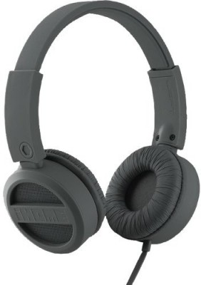 Ihome Ib34Gc Rubberized Headphones Gray Headphones