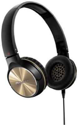Pioneer Fully Enclosed Head Band Type Dynamic Headphones Se-Mj542-N () Headphones(Black)