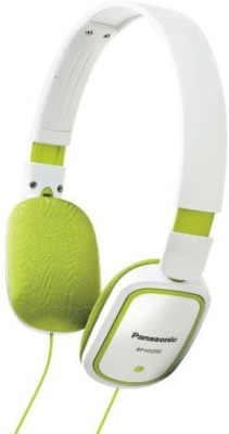 Panasonic Hx-200 Headphones Green Headphones(White)