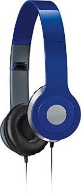 Ilive Iah54Bu Over-The-Ear Dj Headphones, Blue Headphones