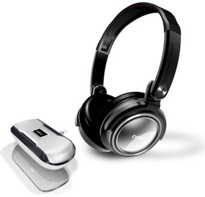 Coby Cv18523Svr Jammerz Xtreme Deep Bass Stereo Headphones And Speakers (Sliver) (Discontinued By Manufacturer) Headphones