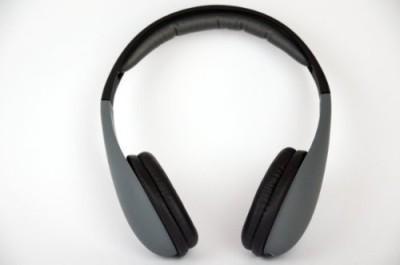 Ifrogz If-Cod-Gry Coda Headphones With Mic, Gray Headphones