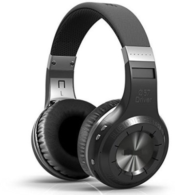 Supower Bluetooth Wireless Noise-Cancellation Stereo Headphones For Music Stream Hands-Free Calling W/ Built-In Mic Black Wired bluetooth Headphones
