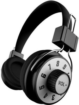 Ihip Ip-Knob-Bk Dj Style Moveable Volume Control On Headphone With Mic Headphones