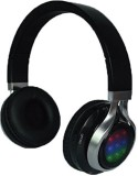 Qfx H-252Bk Stereo Headphones With Disco...
