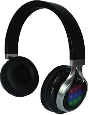 Qfx H-252Bk Stereo Headphones With Disco Lights Headphones
