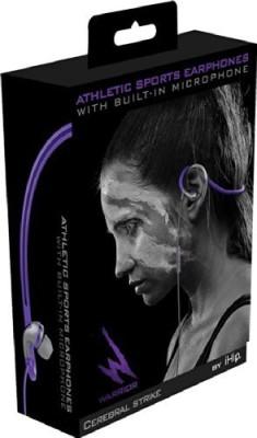 Warrior By Ihip - & Gray Cerebral Strike Wrap Around Sport, 1 Headphones Headphones
