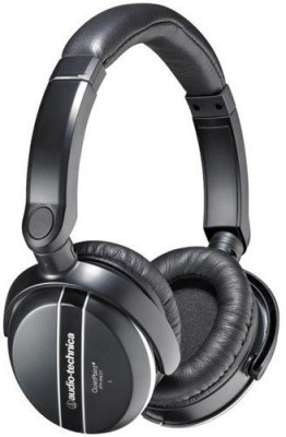 Audio Technica Ath-Anc27X Quiet Point Active Noise-Cancelling Headphones With In-Line Mic Headphones