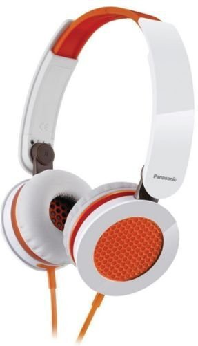 Panasonic Rp-Hxs200-D Sound Rush On-Ear Headphones Rphxs200 Headphones(Orange)