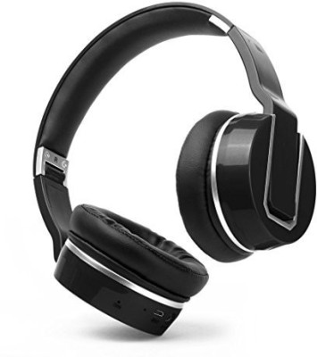 Nakamichi Bluetooth Over Ear Headphones Bthp02 Black Headphones(Black)