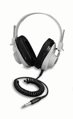 Califone Monaural Headphone 5 Coiled Cord 50-12000 Hz By International Headphones