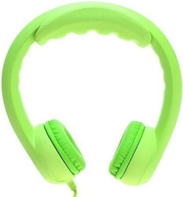 Kidrox Volume Limited Wi Headphones For Kids - Green Headphones