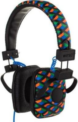 Wesc Maraca Headphones Knit Pattern , One Size Headphones