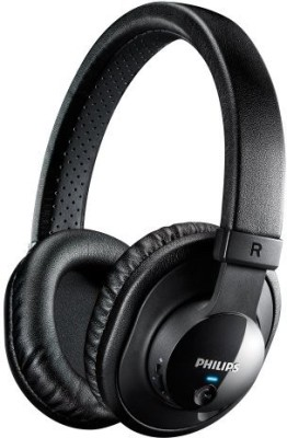 Philips Shb7150Fb/27 Wireless Bluetooth Headphones With Microphone  Wired bluetooth Headphones