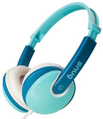 Snug Plug N Play Kids Headphones For Children Dj Style (Turquoise) Headphones