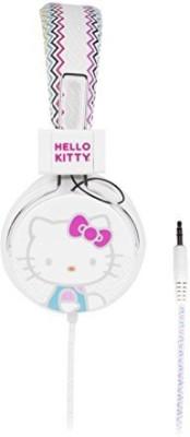 Sakar Hello Kitty Hk-Che-Ta Chevron Headphone Headphones