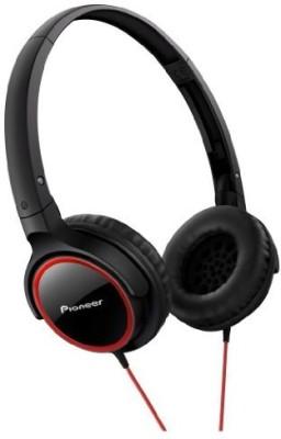 Pioneer Fully Enclosed Dynamic Headphones Se-Mj512-R () Headphones