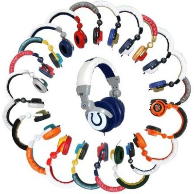 Ihip Indianapolis Colts Dj Headphones (Discontinued By Manufacturer) Headphones