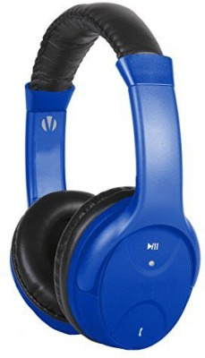 Vivitar V12909-Blu-Km Bluetooth Headphone With Mic, Blue Headphones