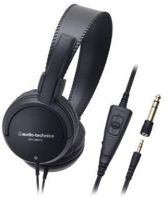 Audio Technica Air Dynamic Headphones Ath-300Tv Headphones