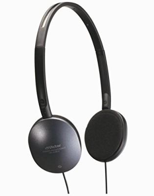 JVC Victor Stereo Headphones For Tv | Hp-Av350 (Japanese Import) Headphones(Black)