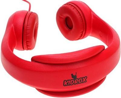 Kidrox Volume Limited Wi Headphones For Kids Headphones