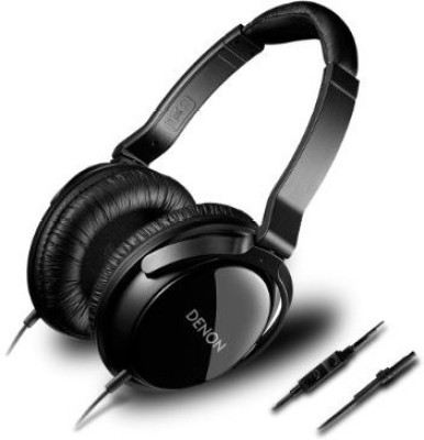 Denon Ah-D310R | Over-Ear Stereo Headphones For Iphone / Ipod (Japan Import) Headphones(Black)