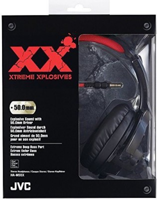 JVC Ham55X High Quality Xtreme-Xplosvs Headphones Headphones