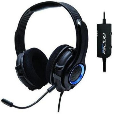 Syba Og-Aud63075 Gamestergear Cruiser P3200 Stereo Gaming Headset Compatible With Ps3 & Pc, Hand-Washable Removable Ear-Cup Headphones(Black)
