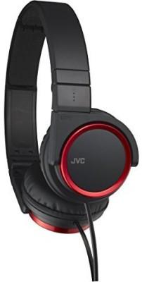 JVC Victor Head-Band Foldable Headphones | Ha-S400-R (Japanese Import) Headphones(Black)
