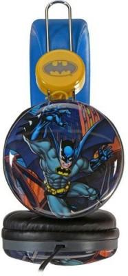 Sakar Over The Ear Kids Safe Headphones (Batman) Headphones(Blue)