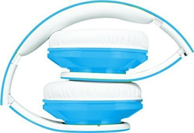 Coby Cvh-803-Blu Jammerz Folding Headphones, Blue Headphones(White)