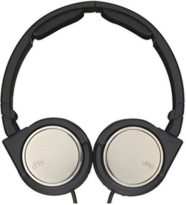 JVC Victor Head-Band Portable Headphones | Ha-S500-Z Gunmetallic (Japanese Import) Headphones