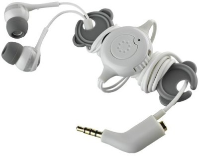 Memorex 98502 In-Ear Headphones With Phone Control And Sharing Plug Headphones