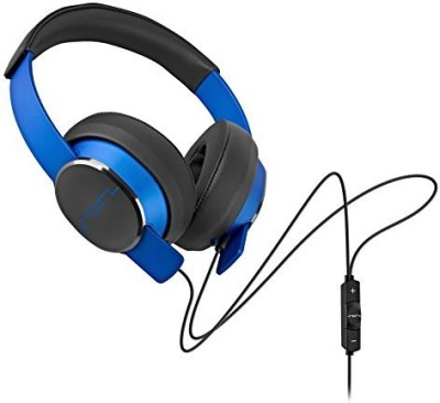 Sol Republic 1601-36 Master Tracks Over-Ear Headphones - Electro Blue (Certified Refurbished) Headphones