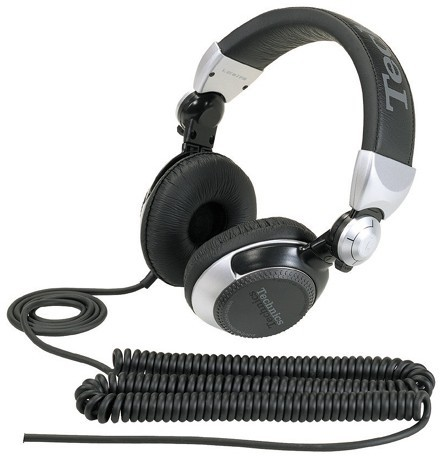 Panasonic RP-DJ1210E-S Wired Headphones(Silver, Over the Ear)