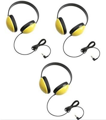 Califone 2800-Yl Listening First Headphones In (Set Of 3) Headphones