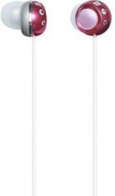 Panasonic Stereo Earphones Moon Jewel Deep Rp-Hjf5-P (Japan Import) Headphones