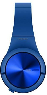 Pioneer Se-Mx7-L Se-Mx7 Blue Headphone Superior Club Sound With Colourful, Matte Rubber Finish Japan Import Headphones(Dark Blue)