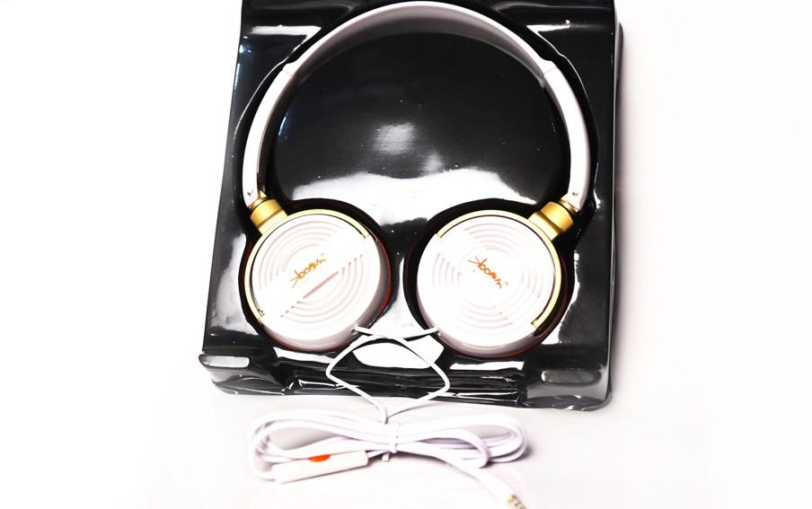 KBOOM KB006 Wired Headphones(Multicolor, Over the Ear)