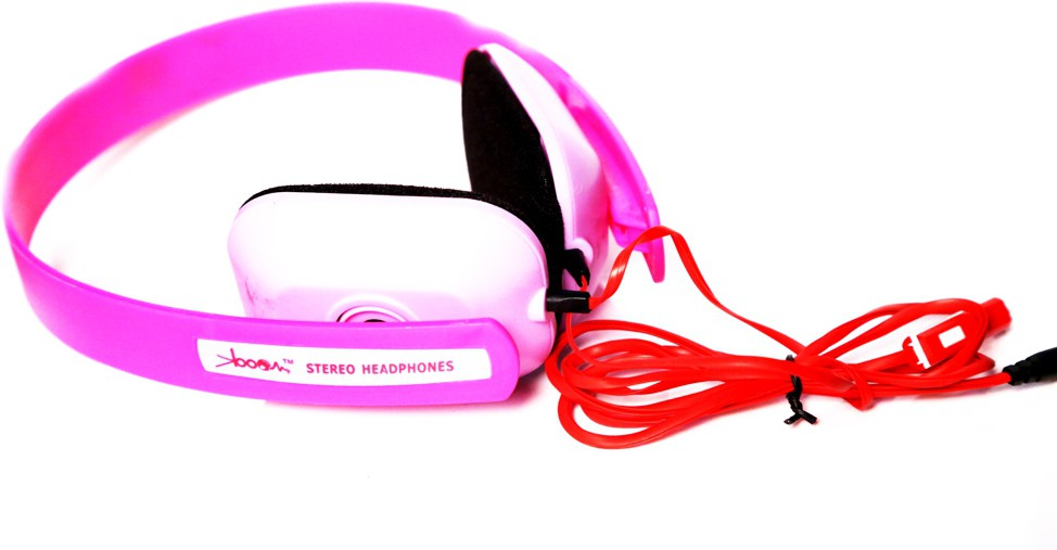 KBOOM KB004 Wired Headphones(Multicolor, Over the Ear)