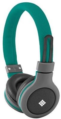 Polaroid Php120Gr Canvas Headphones With Mic, Noise Isolation Headphones