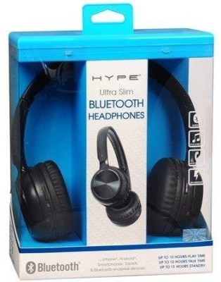 hype ultra slim bluetooth headphones headphones available at flipkart for. Black Bedroom Furniture Sets. Home Design Ideas