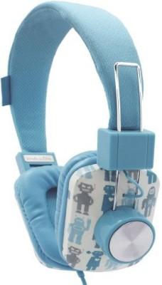 Argento Sc By Sicura Designs Aimee Wilder Dj Headphones - Robot Blue (Hp6396-Rb) Headphones