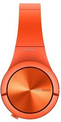 Pioneer Se-Mx7-M Se-Mx7 Headphone Superior Club Sound With Colourful, Matte Rubber Finish Japan Import Headphones(Orange)