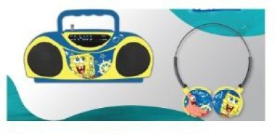Nickelodeon Spongebob Radio And Headphones 45062 Headphones