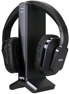 Rif6 Digital Wireless Headphones With 2.4Ghz Digital Uhf / Rf Including Wireless Transmitter That Acts As The Headphones Charging Dock () Wired bluetooth Headphones